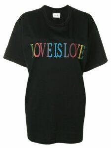 Alberta Ferretti Love is Love T-shirt - Black