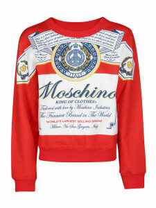 Moschino Boxy Printed Sweatshirt