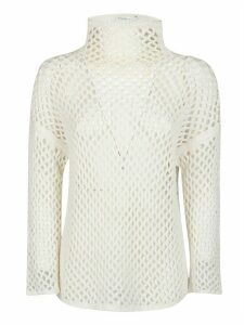Agnona Mesh Construction Top