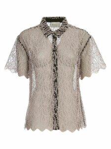 Be Blumarine Shirt S/s Voille