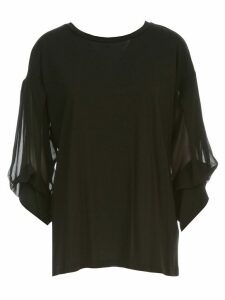 DKNY Crew Neck Top W/ Cin