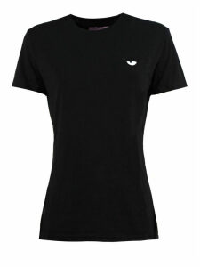 Chiara Ferragni Black Cotton T-shirt