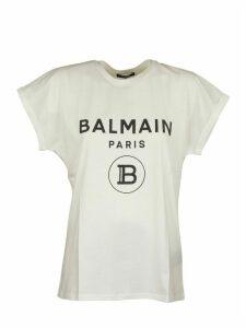 Balmain T-shirt White/black