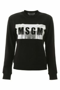 MSGM Box Logo Sweatshirt