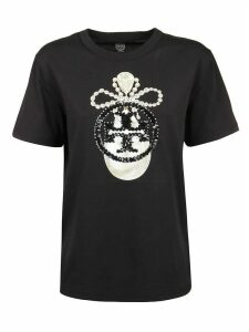 Tory Burch T-shirt Sequin Embroidered