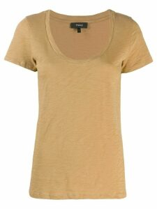 Theory classic T-shirt - NEUTRALS