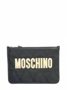 Moschino Clutch With Maxi Logo