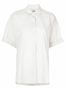 Lee Mathews Riley boxy short sleeve shirt - NEUTRALS