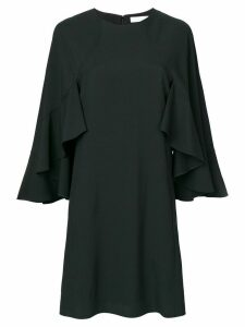 Chloé ruffle sleeve dress - Black