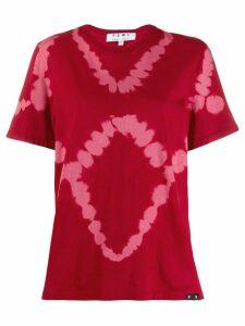 Proenza Schouler White Label PSWL Diamond Tie Dye Short Sleeve T-Shirt