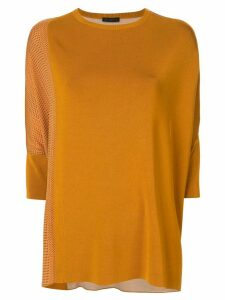 Anteprima rayon print jumper - ORANGE