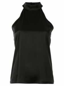 Nili Lotan halterneck sleeveless blouse - Black