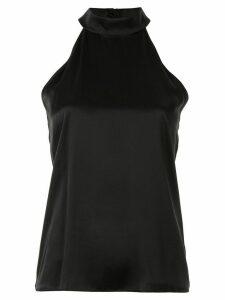 Nili Lotan halterneck sleeveless blouse - Black