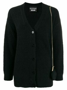 Boutique Moschino V-neck cardigan - Black