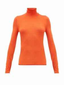 Gabriela Hearst - Costa Cashmere-blend Roll-neck Sweater - Womens - Orange