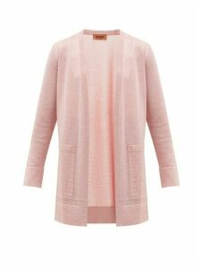 Missoni - Lurex Cardigan - Womens - Pink