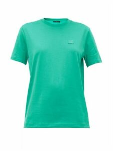 Acne Studios - Ellison Face Cotton-jersey T-shirt - Womens - Green