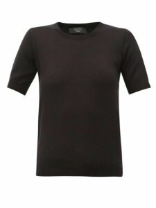 Weekend Max Mara - Volto T-shirt - Womens - Black