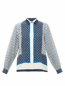 Weekend Max Mara - Micio Blouse - Womens - Blue White
