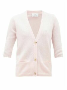 Allude - Button-front Cashmere Cardigan - Womens - Pink