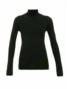 Wardrobe. nyc - Release 05 Roll-neck Ribbed Merino-wool Sweater - Womens - Black