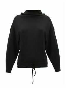 Ernest Leoty - Charlotte Hooded Merino-wool Sweatshirt - Womens - Black