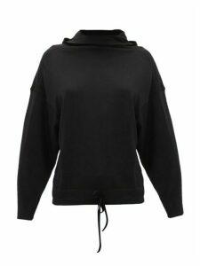 Ernest Leoty - Charlotte Hooded Merino-wool Sweatshirt - Womens - Black