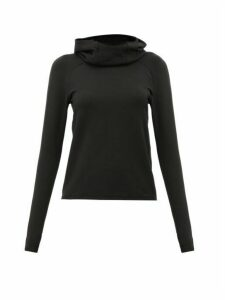 Paco Rabanne - Logo-tape Hooded Sweatshirt - Womens - Black