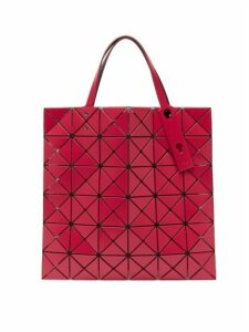 Bao Bao Issey Miyake - Lucent Small Matte-pvc Tote Bag - Womens - Red