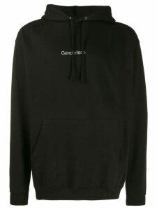 F.A.M.T. Genderless hoodie - Black