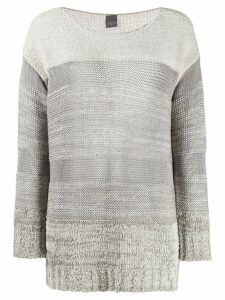 Lorena Antoniazzi colour block jumper - Grey