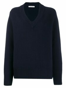 Extreme Cashmere V-neck jumper - Blue
