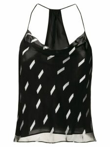Alice+Olivia geometric print cami top - Black