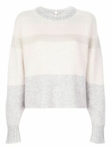 Le Kasha Keith panelled cashmere jumper - PINK