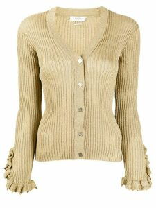 Sandro Paris knitted cardigan - GOLD