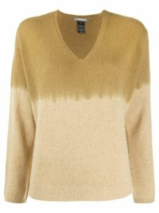 Suzusan colour block jumper - NEUTRALS