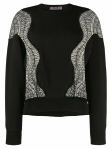 Givenchy lace insert jumper - Black