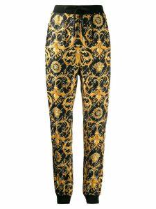 Versace Barocco Signature track pants - Black
