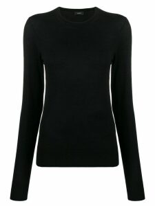 Joseph fine knit jumper - Black