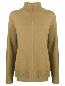 Joseph exposed seam jumper - Brown