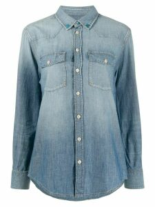Golden Goose denim long sleeve shirt - Blue