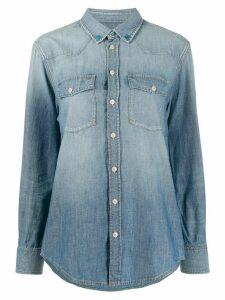 Golden Goose denim long sleeve shirt - Blue