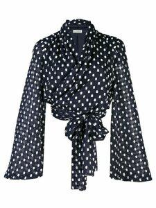 Stine Goya Clover draped blouse - Blue