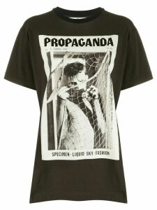 Acne Studios magazine-print T-shirt - Black