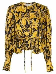 Stine Goya Ren printed blouse - Yellow