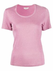 Isabel Marant Étoile slim fit round neck T-shirt - PINK