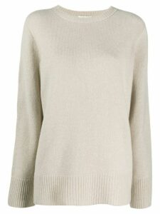 The Row crew-neck knit jumper - NEUTRALS