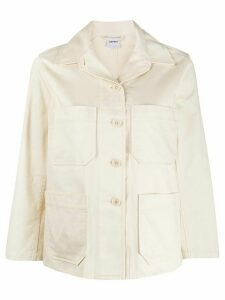 Aspesi denim shirt jacket - NEUTRALS