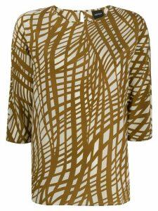 Aspesi boxy fit blouse - NEUTRALS