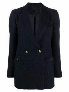 Blazé Milano double-breasted regular-fit blazer - Blue